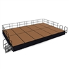 "NPS SG482412HB-SSXX Portable Stage Groups w/ Hardboard Surface - 24'D x 16'W x 24""H (National Public Seating NPS-SG482412HB-SSXX)"