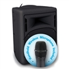 Oklahoma Sound - PRA-8000-PRA8-5 - 40 Watt Wireless PA System w/ Wireless Handheld Mic(Oklahoma Sound OKL-PRA-8000-PRA8-5)