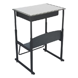 Safco AlphaBetter Stand-Up Desk w/ Book Box - Phenolic Top  (Safco SAF-1209)