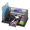Safco Onyx Organizer With 3 Drawers - Black  (Safco SAF-3252)