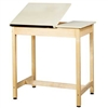 "Shain Split-Top Art/Drafting Table - 36""W x 36""H (Shain SHA-DT-9SA37)"