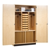 "Shain Drafting Supply Cabinet w/ Tools - 48""W x 84""H (Shain SHA-DTC-24WT)"