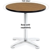 "Virco U30R - 30"" Round cafe Top Only (Base Sold Separately), 1 1/8"" thick high pressure laminate  (Virco U30R)"