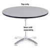 "Virco U42R - Round 42"" Cafe Top Only (Base Sold Separately), 1 1/8"" thick high pressure laminate  (Virco U42R)"