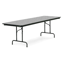 "Virco 603672   - 6000 series 3/4"" thick particle board folding table 36"" x 72""  (Virco-603672-QS)"
