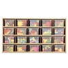Young Time 20 Tray Cubbie Storage With Clear Trays - Ready-to-Assembled (Young Time YOU-7041YT)