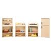 Young Time Play Kitchen Set 4 pcs - Ready-to-Assemble (Young Time YOU-7080YT)