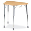 Virco ZHEXBHM - ZUMA® Student Desk, Trapezoid Top for 6-Desk Groupings, Backpack Hanger  (Virco ZHEXBHM)