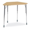 Virco ZHEXM - ZUMA® Student Desk, Trapezoid Top for 6-Desk Groupings  (Virco ZHEXM)
