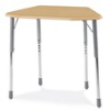 Virco ZOCTM - ZUMA® Student Desk, Trapezoid Top for 8-Desk Groupings  (Virco ZOCTM)