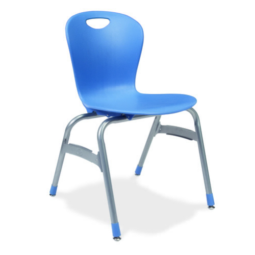 Virco Zu418 - Zuma Series 4-Legged Ergonomic Chair, Contoured Seat ...