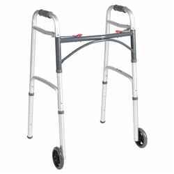"Rolling Walker with 5"" front wheels"