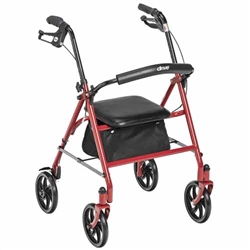 Drive 4 wheel Steel Rollator