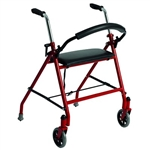 Rolling Walker with Seat and Wheels