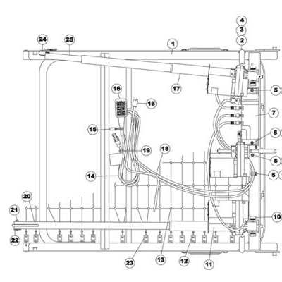 replacement parts for invacare full-electric ivc beds | 5490 parts