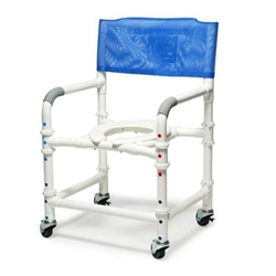 Lumex PVC Shower Commode Chair