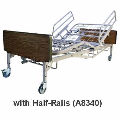 Full-Electric Bariatric Hospital Bed | High-Low Hospital Bed