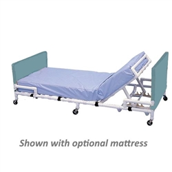 "Healthline 80"" PVC Adjustable Low Bed"