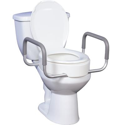 Raised Toilet Seat For Elongated Toilet Model 12403 Seat