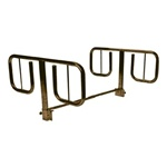 T-Style Half- Length Hospital Bed Rails