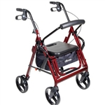 Duet Transport wheelchair - Rollator