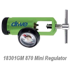 CGA 870 Mini Oxygen Regulator