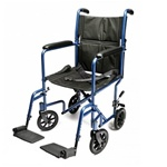 Everest & Jennings Aluminum Transport Wheelchair