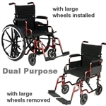 Dual Purpose Wheelchair