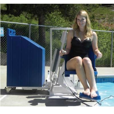 Aqua Creek Patriot Portable Pool Lift Ada Compliant Handicap Pool Lift