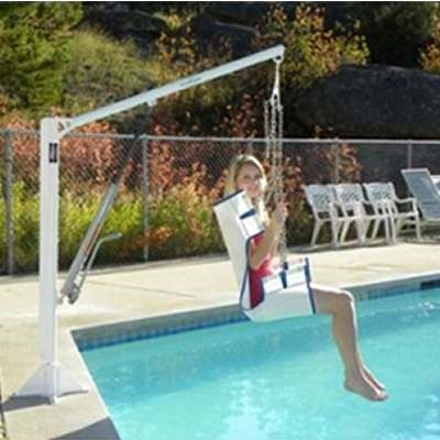 Aqua Creek F Ezpl2 Ez Manual Handicap Pool Chair Lift