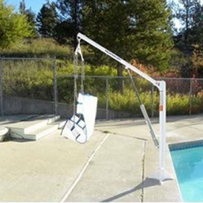 Aqua Creek F Ezpl2 Ez Manual Handicap Pool Chair Lift