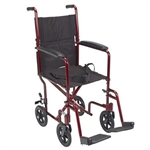 Aluminum Transport Wheelchair