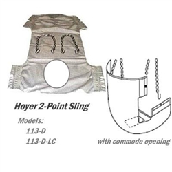 2-point Hoyer Sling for Hoyer Patient Lift