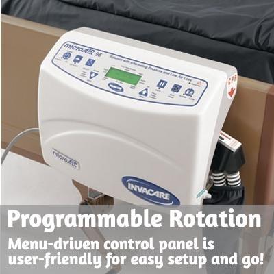 microair ma90z lateral rotation mattress