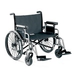 Bariatric Wheelchair, Invacare Topaz has weight capacity of 700-lbs