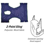 Invacare 9047 Lift Sling with Commode