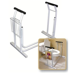 Deluxe Toilet Safety Frame