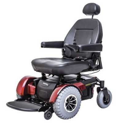 pride jazzy 1450 front-wheel drive bariatric power chair