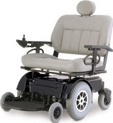 Pride Jazzy 1650 Power Wheelchair