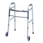 Folding Adult Walker with Wheels