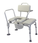Lumex Padded Commode Transfer Bench
