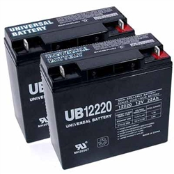 Replacement batteries for Alante JR