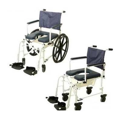 Invacare Mariner Rehab Shower Wheelchair Commode Shower