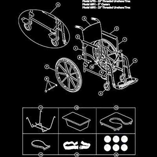 Invacare Mariner Replacement Parts Mariner Shower Chair Parts – Invacare Wiring Diagram