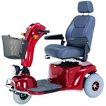 Pioneer 9 Heavy-Duty 3-Wheel Mobility Scooter
