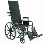 Merits Full Recliner Wheelchair