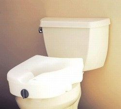Nova 8350 Raised Toilet Seat Without Arms Commode Riser