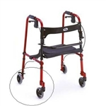 "5"" Replacement Wheel for 4010 De-Lite Rollator"