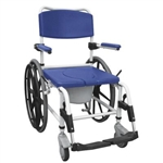 Rehab Shower-Commode Wheelchair