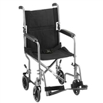 Nova Steel Transport Wheelchair